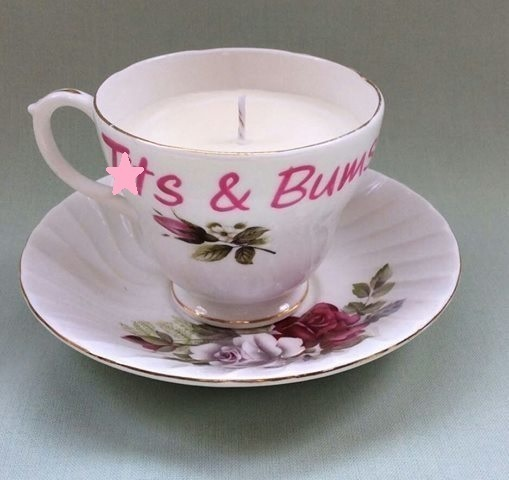6852127-Sale-Warning-profanities-Tits-and-bums-Vintage-altered-tea-cup-candle--0